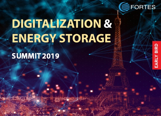 Digitalization & Energy Storage Summit 2019